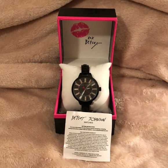 Betsey Johnson Accessories - NWT Betsy Johnson watch
